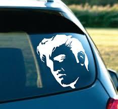 Elvis Presley Look Movie Decal Sticker For Car Suv Window Laptop 6 White Ebay