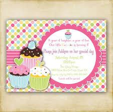 Polka Dot Cupcake Birthday Invitation Tarjetas Invitaciones