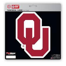 Oklahoma Sooners 8x8 Logo Decal Fans United