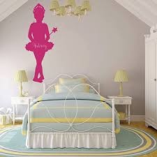 Amazon Com Ballerina Wall Decal Princess For Girls Or Teenager S Bedroom And Classic Dance Studio Decor Handmade