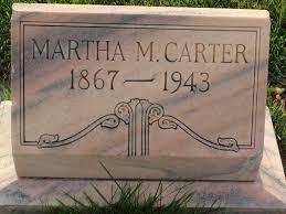 Martha Moore Carter (Crawforth) (1867 - 1943) - Genealogy