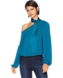 Ramy Brook Womens Embellished Myra Long Sleeve Top