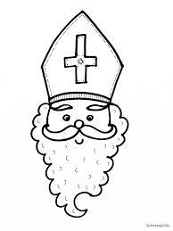 Sinterklaas Kleurplaten Sinterklaas Knutselen Sinterklaas