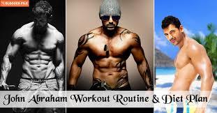 john abraham workout routine t