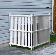 4 X 3 Vinyl 2 Privacy Screen Fence Panel Outdoor Fencing Garden Yard White For Sale Online