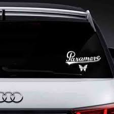 Paramore Butterfly Logo Vinyl Decal Sticker