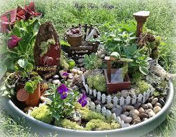 how to build a container fairy garden