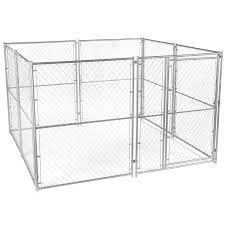Tail Wagger S Choice Chain Link Dog Kennel Home Hardware