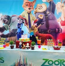 Ideas Para Una Fiesta Tematica De Zootopia O Zootropolis