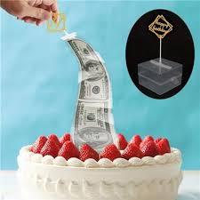 كعكة Atm عيد ميلاد سعيد كعكة توبر حصالة كعكة مضحك Atm عيد ميلاد