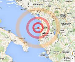 terremoto-Albania cartina – L'altroquotidiano.it