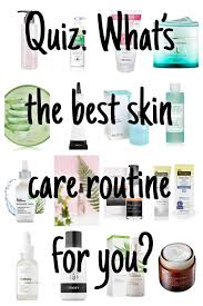 how to build a skincare routine quiz