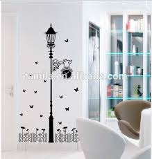2015 New Wall Art Street Lamp Wall Sticker View Removable Wall Stickers Ay Product Details From Yiwu Tamila Home Decorative Material Factory On Alibaba Com