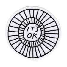 It S Ok Vinyl Sticker Anna Tovar