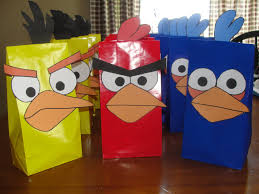 Imprimibles De Angry Birds Manualidades Infantiles
