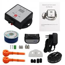 X 881 Underground Electric Dog Fence System Dog Training Collar Rechargeable W 300m Wires For 1 Dog Free Shipping Thanksbuyer