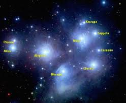 who made the pleiades and orion