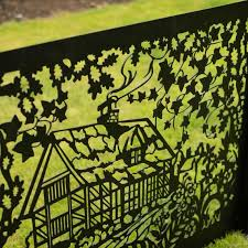 Fence Panel Privacy Screen Cottage Garden Screen Patio Etsy