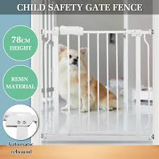 Extra Tall Walk Safety Gate Baby Indoor Home Security Dog Pet Door Gates Fence Ebay