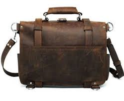 full grain distressed leather backpack