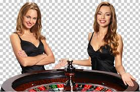 Online Casino Croupier Game Roulette, others, two women standing ...