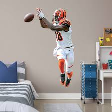 Cincinnati Bengals A J Green Fathead 3 Pack Life Size Removable Wall Decal
