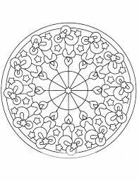 Kleuren Nu Mandala Figuren Kleurplaten