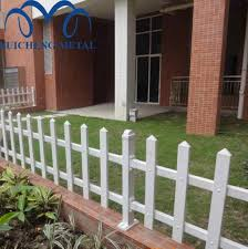 Source Guangzhou Factory 0 5m 2m White Pvc Vinyl Picket Fence Pvc Coated Vinyl White Plastic Fence Panels For Sale On M Alibaba Com