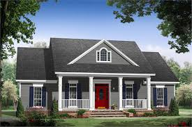 one story country ranch house plan 3