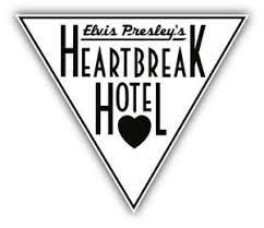 Elvis Presley S Heartbreak Hotel Car Bumper Sticker Decal 3 5 Or 6 Ebay