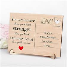 personalised you are braver stronger birthday gifts mum mummy