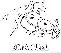 Emanuel Naam Kleurplaten