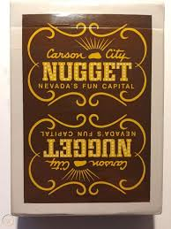 carson city nugget playing cards