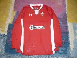 rugby clothing under armour wales wru