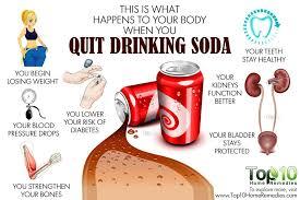 quit drinking soda
