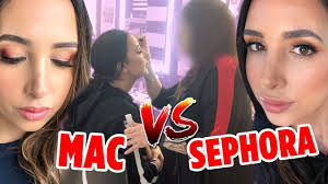 sephora vs mac to get my makeup done