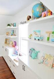 Adding Built Ins White Floating Shelves Around A Window Niche Young House Love White Floating Shelves Floating Shelves Floating Shelves Diy