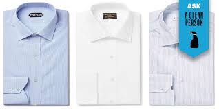 dry cleaner and wash your dress shirts