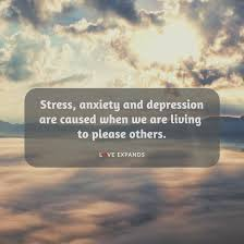 stress anxiety and depression are love expands
