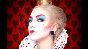 queen of hearts inspired makeup alice