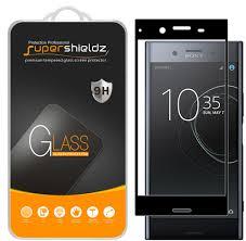 2 Pack Supershieldz Sony Xperia Xz Premium Full Screen Coverage Tempered Glass Screen Protector Anti Scratch Anti Fingerprint Bubble Free Black Frame Walmart Com Walmart Com