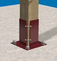 Fence Post Supports And Landscaping