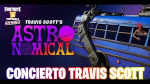 Concierto de TRAVIS SCOTT en Fortnite The Gabrieleitor - YouTube