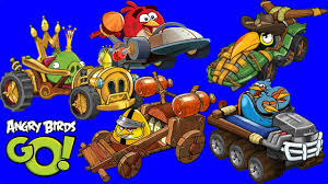 Angry Birds Go ALL 12 BIRDS & PIGS KARTS Characters Gameplay ...