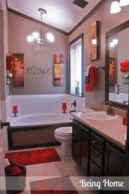 bathroom decor ideas on black and cream