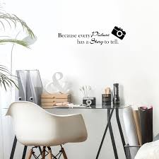 Because Every Picture Has A Story To Tell 22 X 6 S Vinyl Wall Dec Imprinted Designs