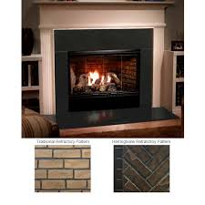 majestic reveal 42 b vent gas fireplace