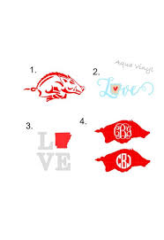 Arkansas Decals For Yeti Swell Bottle Corkcicle Rtic Etsy