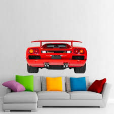 Wall Decal Lamborghini Diablo Vt Printed Fabric Etsy