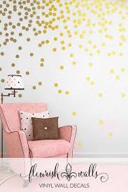 17 Gold Dot Wall Decals Girl Rooms 67 Polka Dot Wall Decals Gold Polka Dot Wall Decals Wall Decals Girls Room